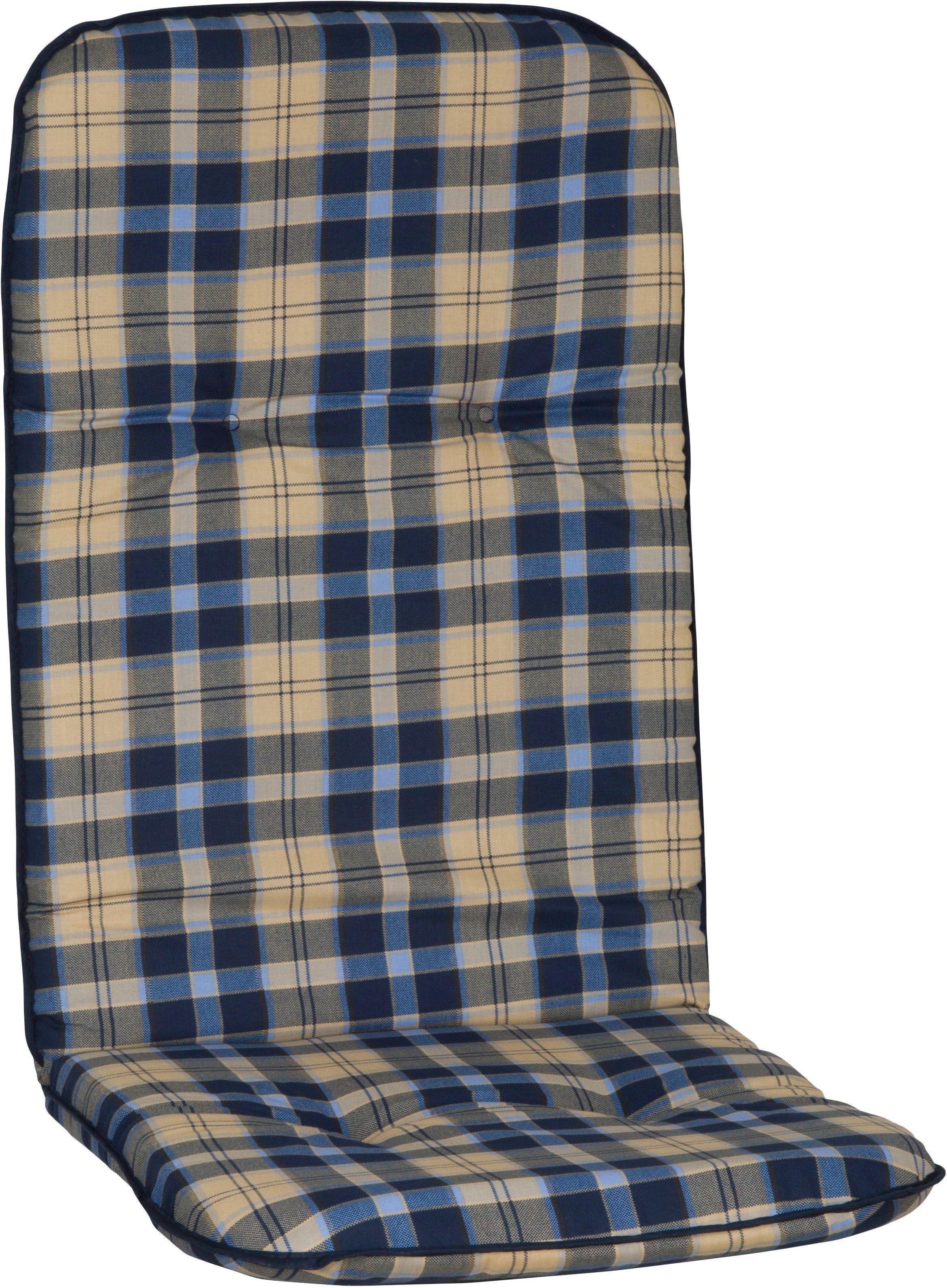 Hochlehnerauflage »Capri«, (4er Set), (L/B): ca. 115x48 cm