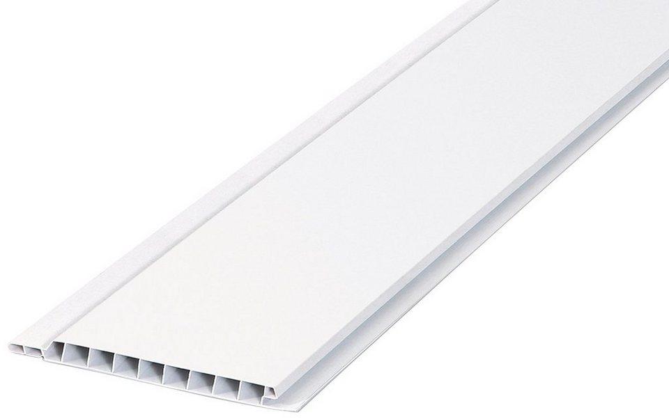 Verkleidungspaneel, 2,7 m² in weiß