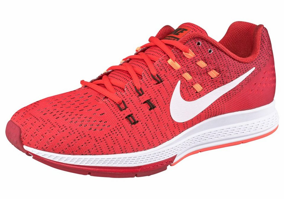 Nike »M« Laufschuh in rot-schwarz