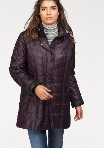 windfield By DANWEAR Steppjacke, aufwendige Steppung