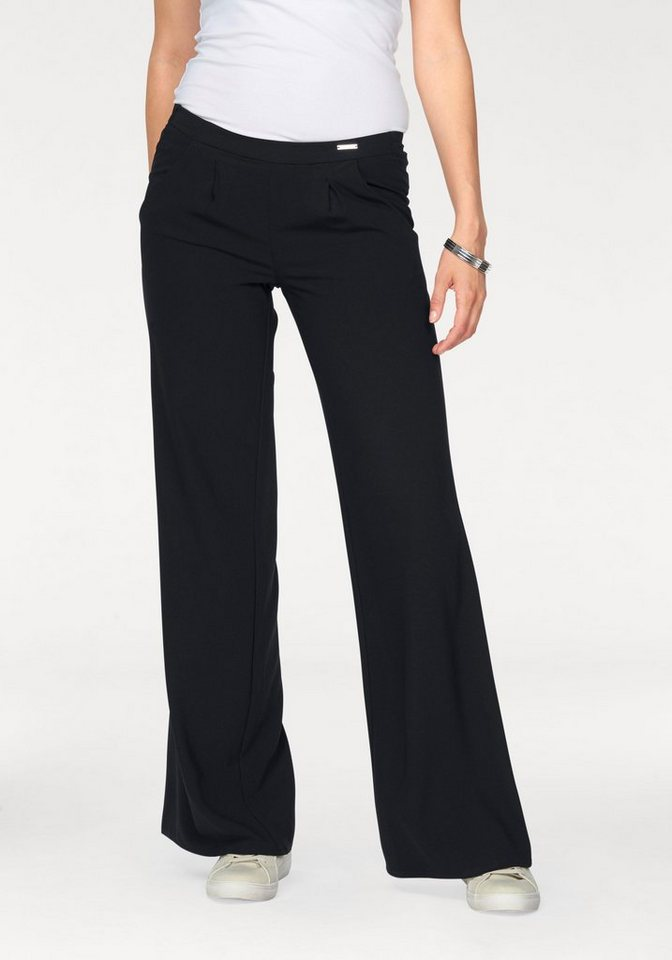Bruno Banani Palazzohose New Fit in schwarz