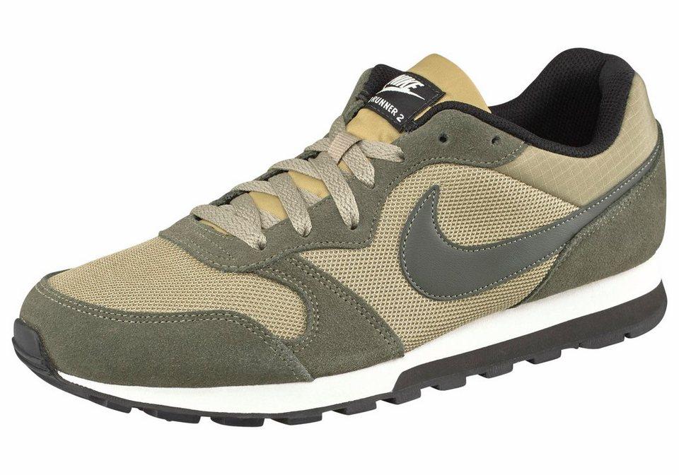 Nike »MD Runner 2« Sneaker in olivgrün-beige