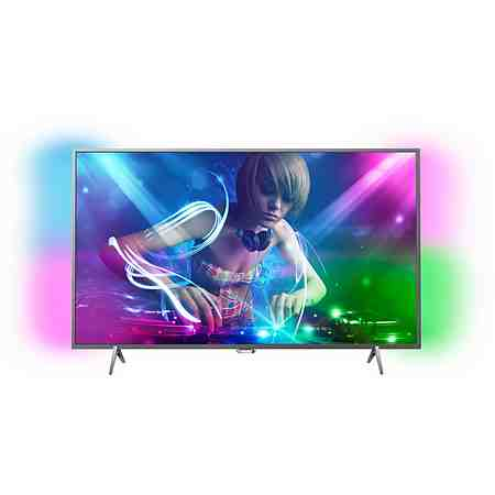 Philips 49PUS6401/12 LED TV (123 cm (49 Zoll), Ultra HD, Ambilight) inkl. 36 Monate Garantie