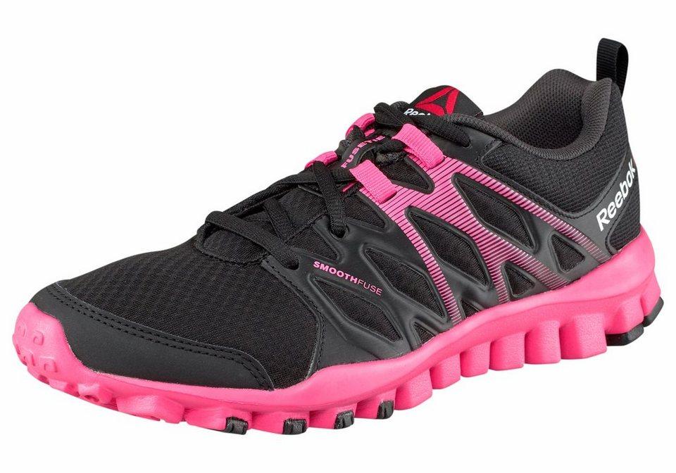Reebok »Reebok RealFlex Train« Sneaker in schwarz-pink