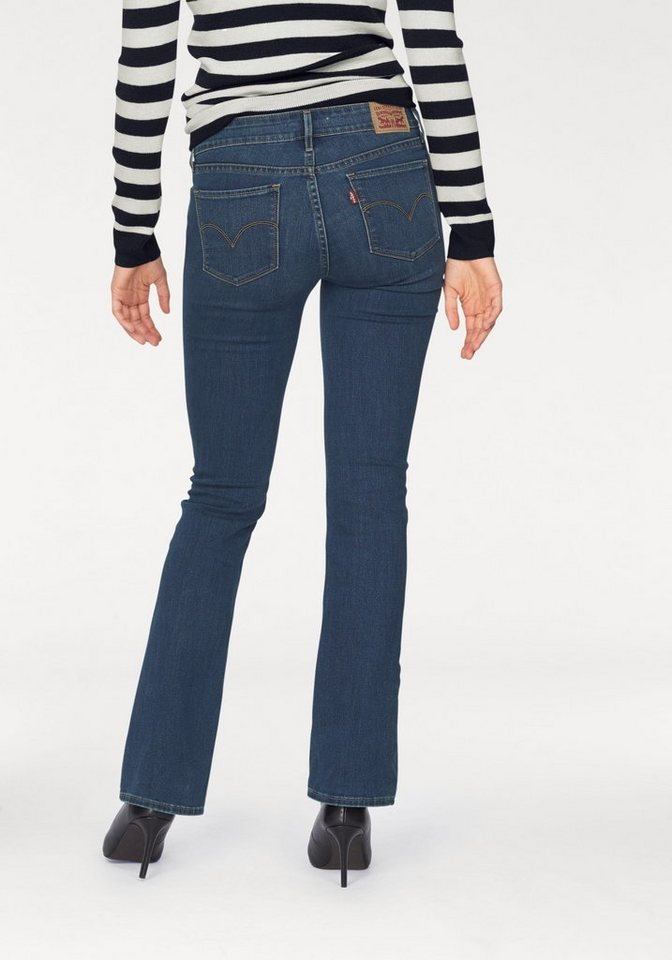Levi's® Bootcut-Jeans »Levis 715« Bootcut in blue-stone