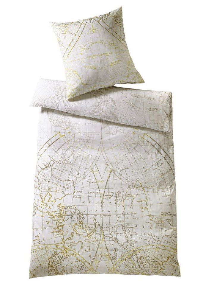 Designer-Bettwäsche in weiß