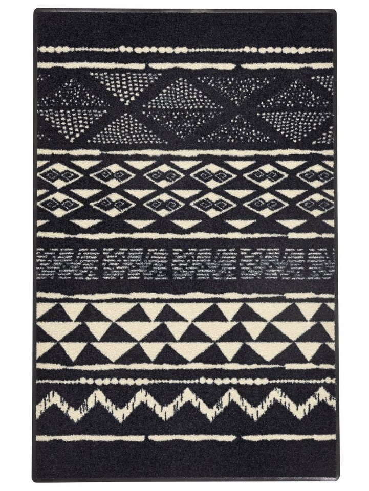 Fußmatte in schwarz/beige