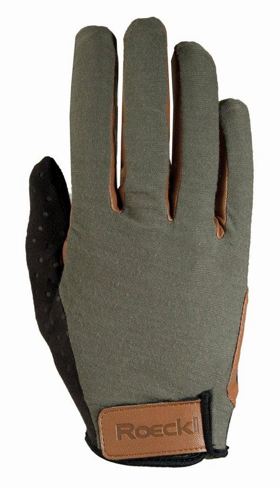 Roeckl Fahrrad Handschuhe »Orleans Handschuh« in oliv