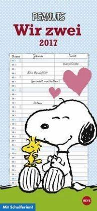 Kalender »Peanuts Planer für zwei - Kalender 2017«