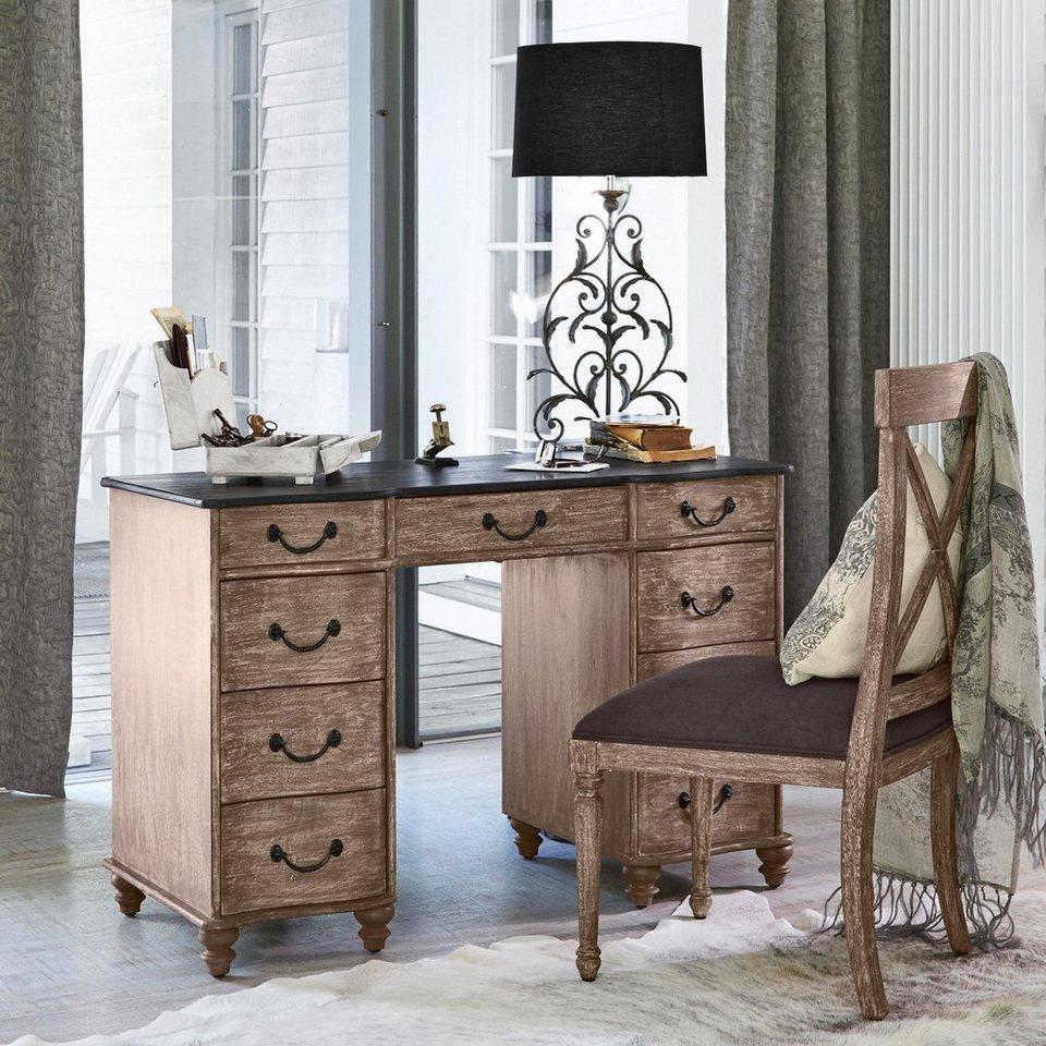 Loberon Schreibtisch »Charonville« in braun
