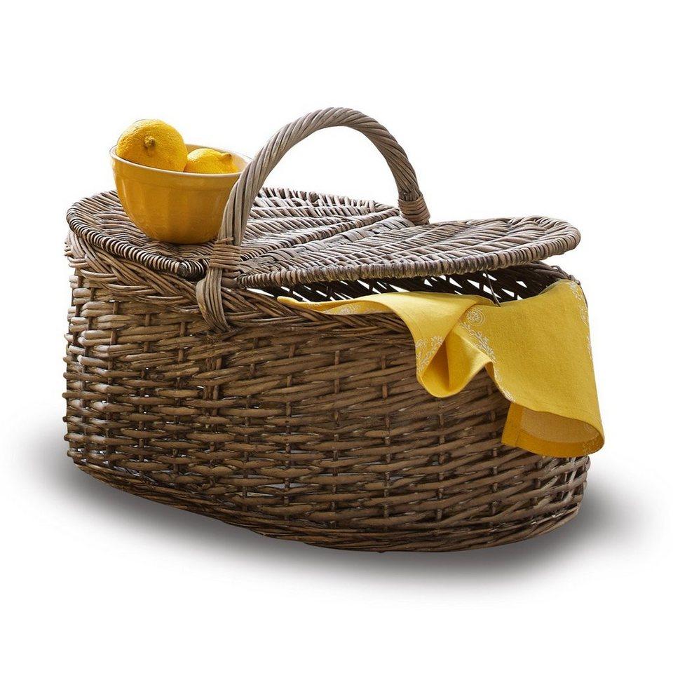 Loberon Picknickkorb »Lochlann« in braun