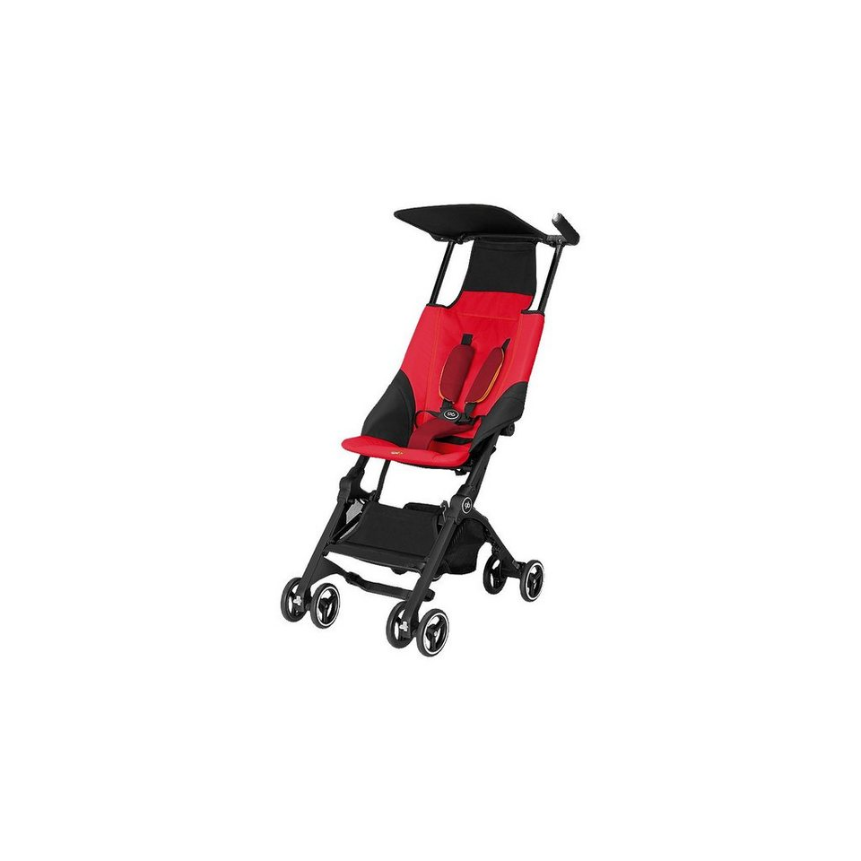 Goodbaby Buggy POCKIT, Dragonfire Red, 2017 in red