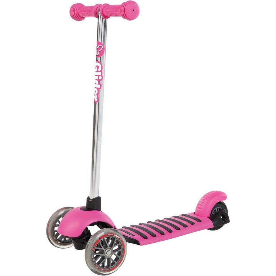 Yvolution Glider Deluxe, rosa in rosa