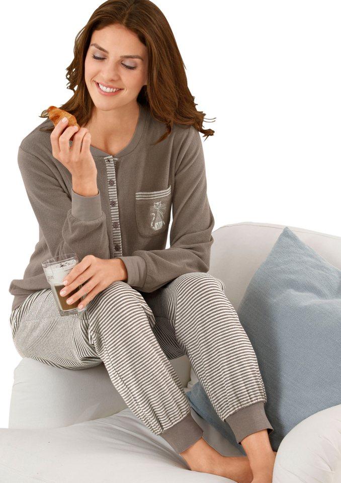 Schlafanzug, Comtessa, »night + day« in taupe