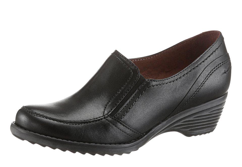 Corkies Slipper mit rutschhemmender PU-Laufsohle in schwarz