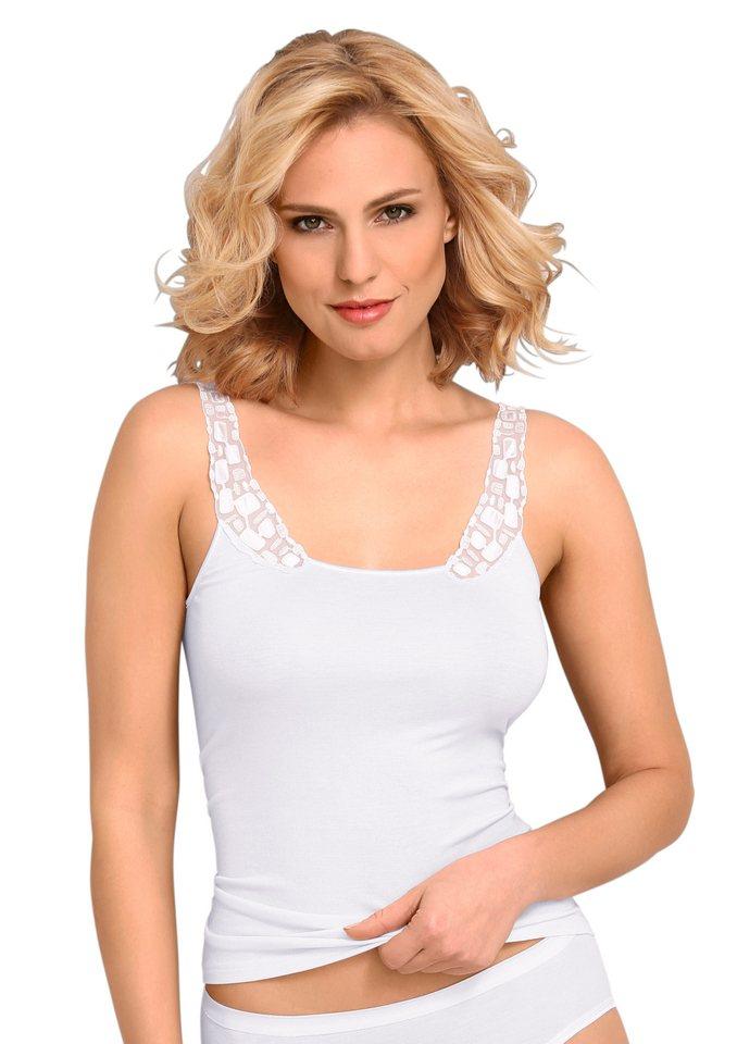Trägerhemd, Speidel in weiß