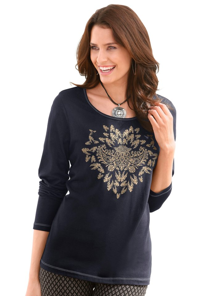 Classic Inspirationen Shirt bedruckt in schwarz-bedruckt