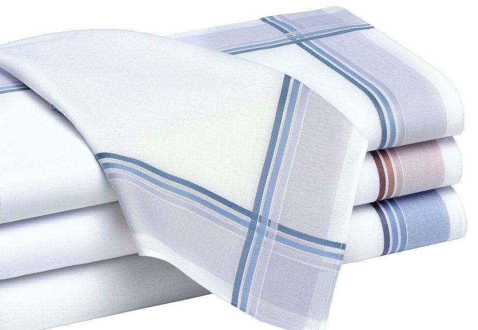 Herren-Taschentücher in farblich sortiert