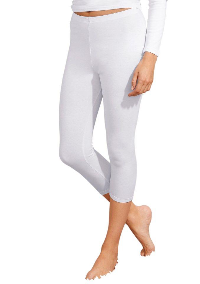 Leggings 3/4-lang, Rosalie in weiß