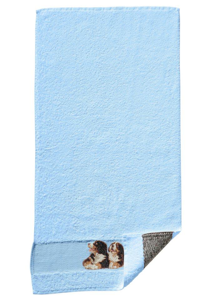 Frottiertuch, Dyckhoff in bleu