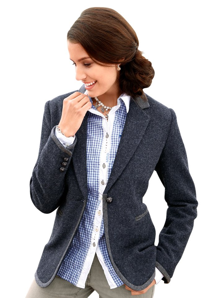 Classic Inspirationen Blazer in hochwertiger Qualität in blau