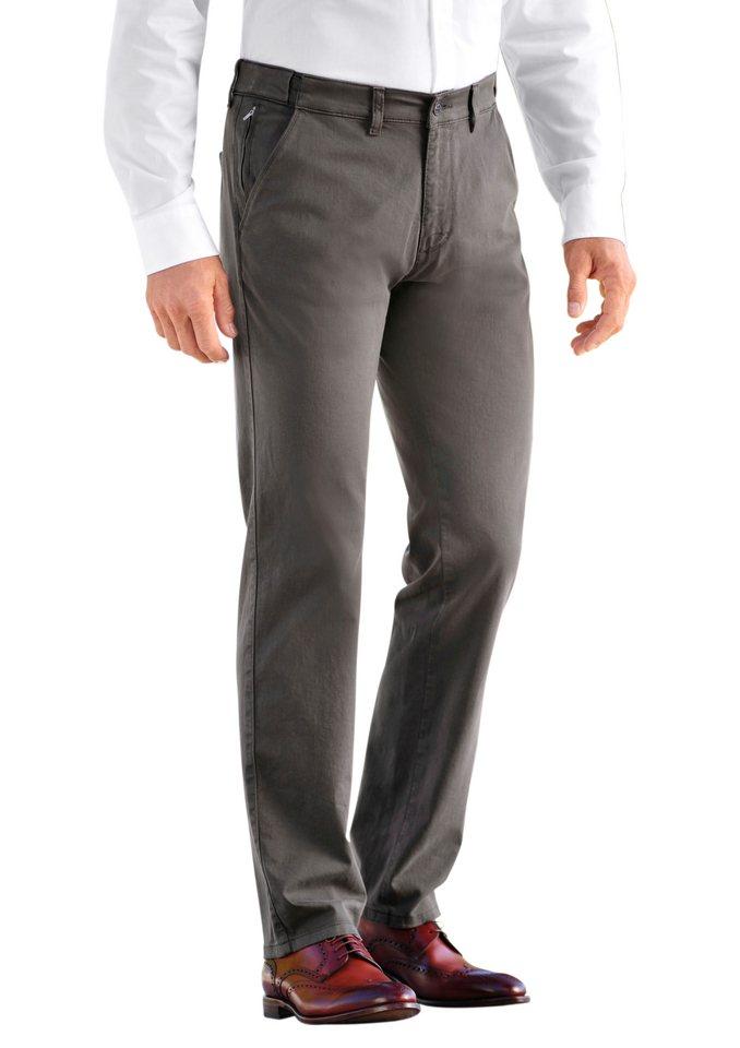 Pionier Pionier Hose mit multifunktionalen Hosenbund in taupe