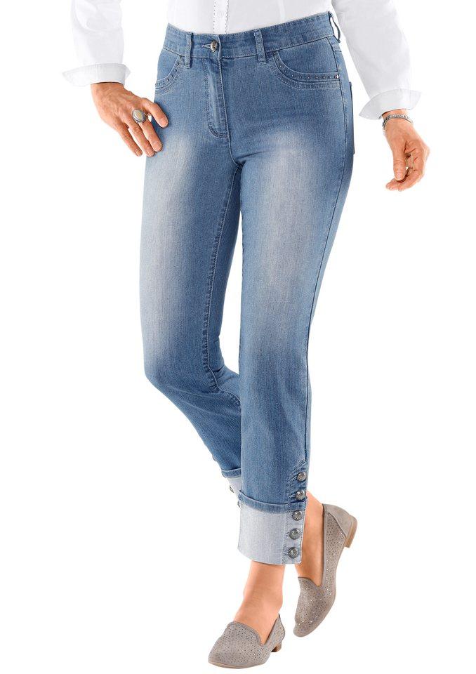 Classic Inspirationen Jeans in 7/8-Länge in blue-bleached