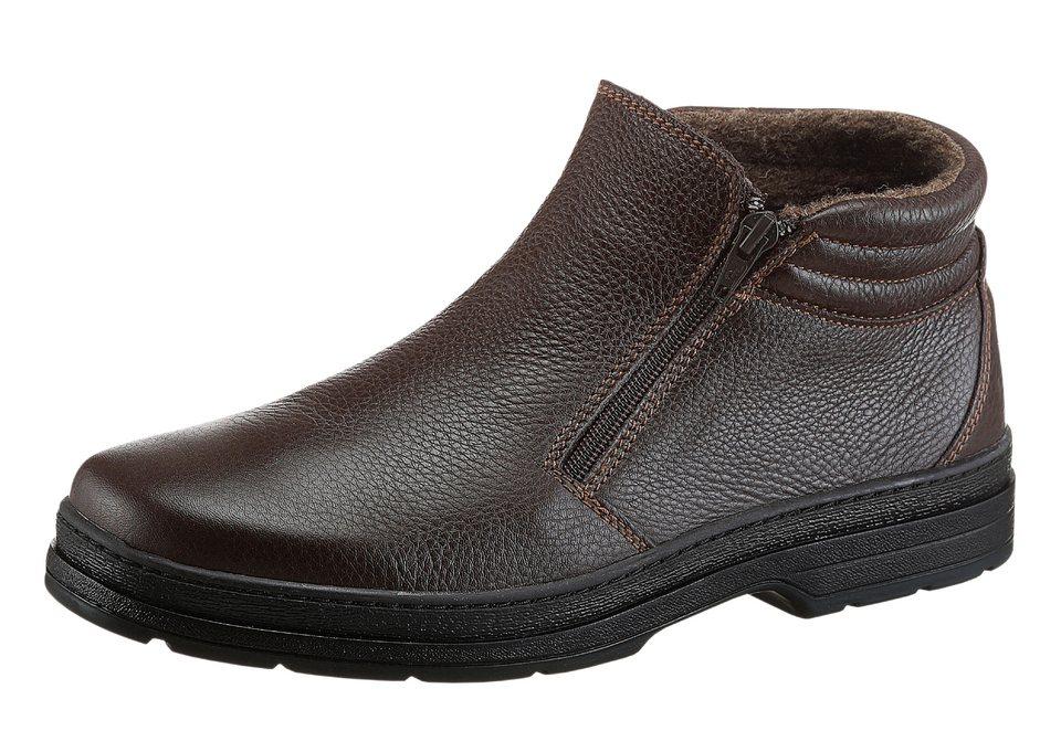 Corkies Stiefel mit PU-Laufsohle in braun