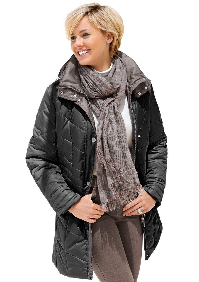 Wega Fashion Attraktiv gesteppte Jacke in schwarz
