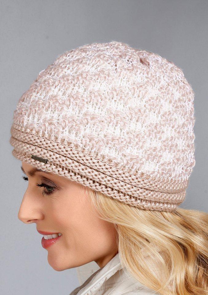 Wegener Mütze mit Viskose in rosa