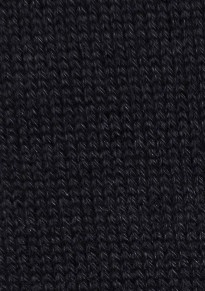Socken, Freshnezz (4 Paar) in schwarz-grau