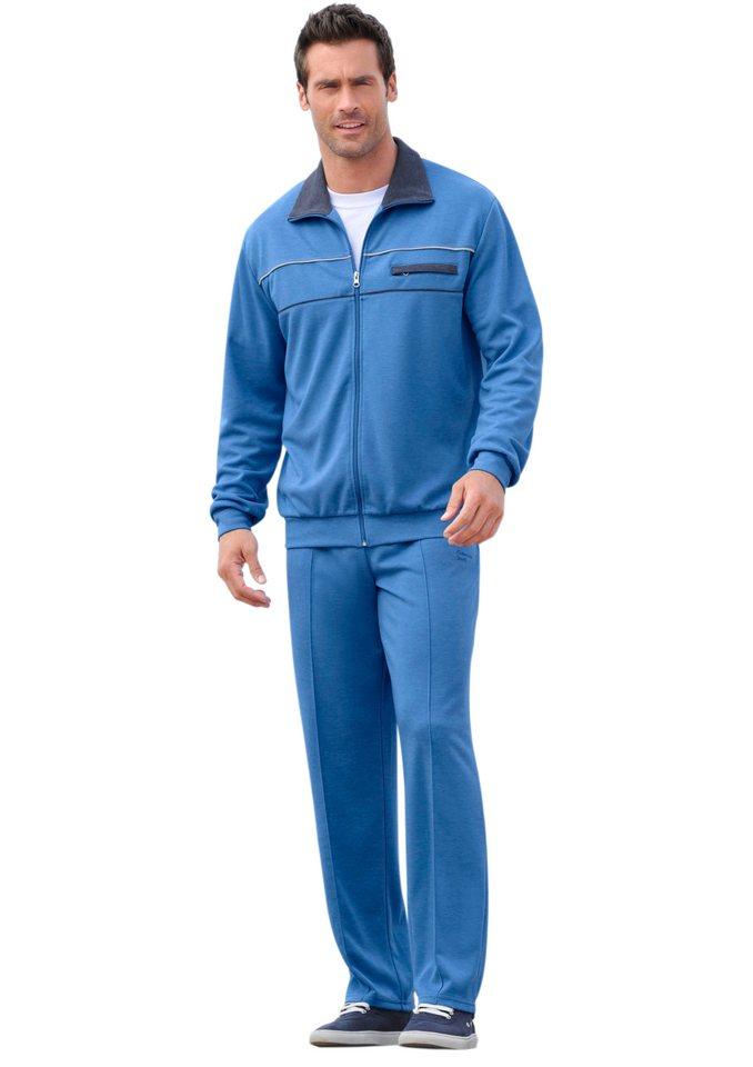Catamaran Freizeitanzug in attraktiver Melange-Qualität in jeansblau