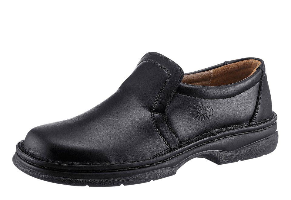Helix Halbschuh mit flexibler PU-Laufsohle in schwarz