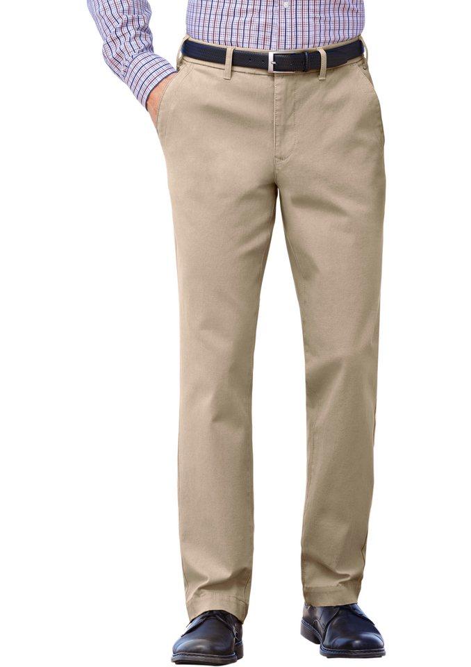 J. Witt Collection Hose aus Baumwoll-Stretch-Qualität in beige