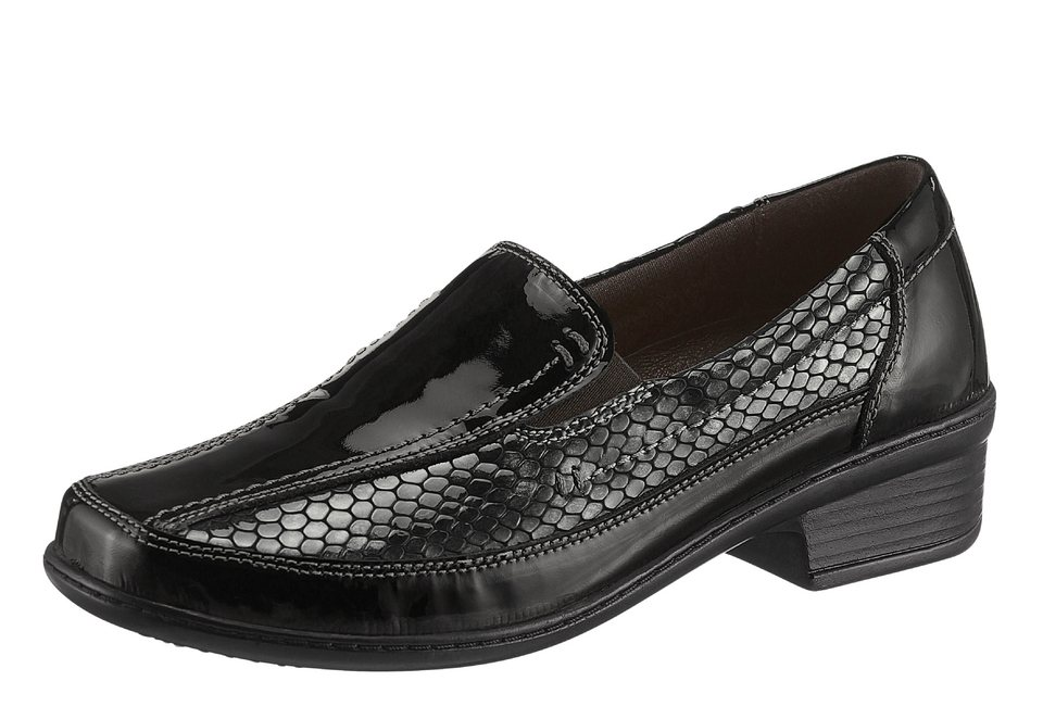 Airsoft Slipper mit auswechselbarer Leder-Innensohle in schwarz