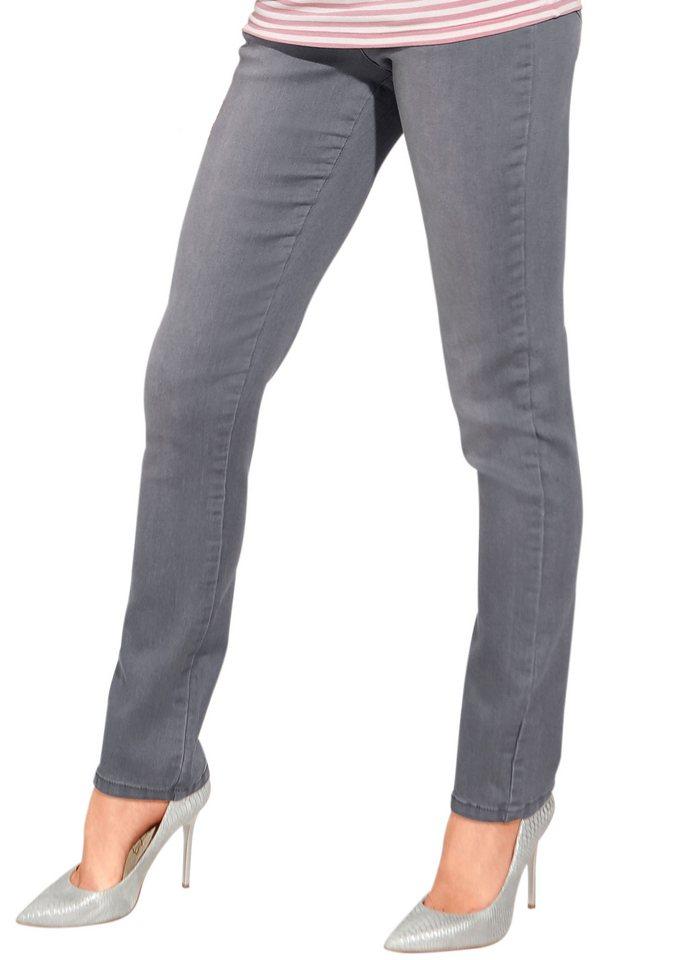 Classic Inspirationen Jeans in 5-Pocket-Optik in grey-denim