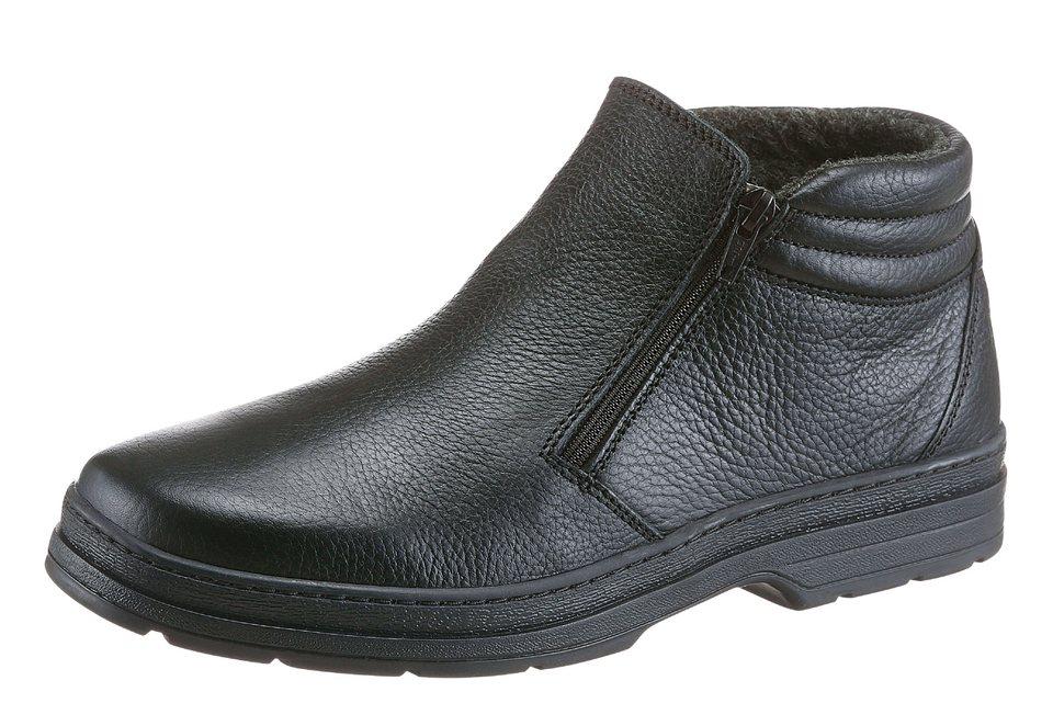 Corkies Stiefel mit PU-Laufsohle in schwarz
