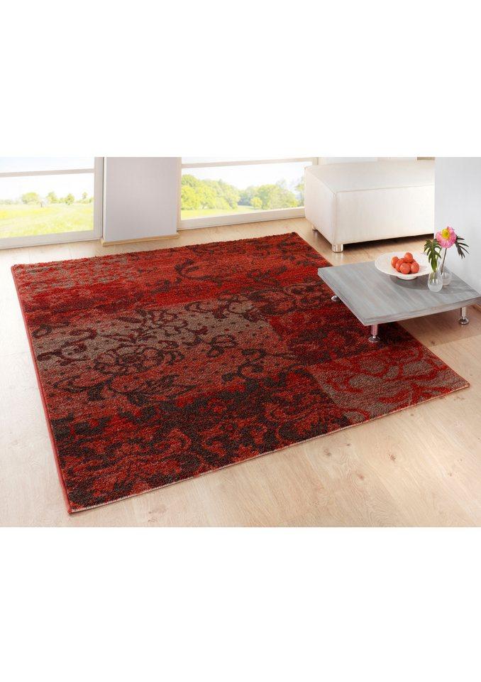 Teppich in rot