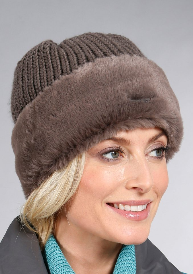Seeberger Mütze in braun