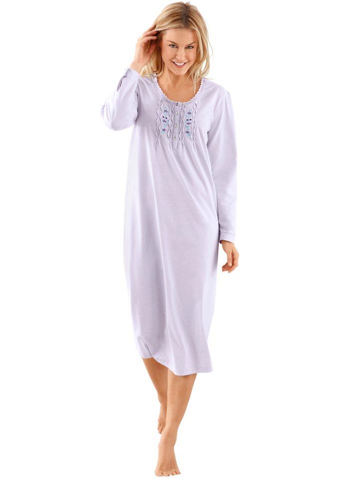 Nachthemd, Rosalie in flieder
