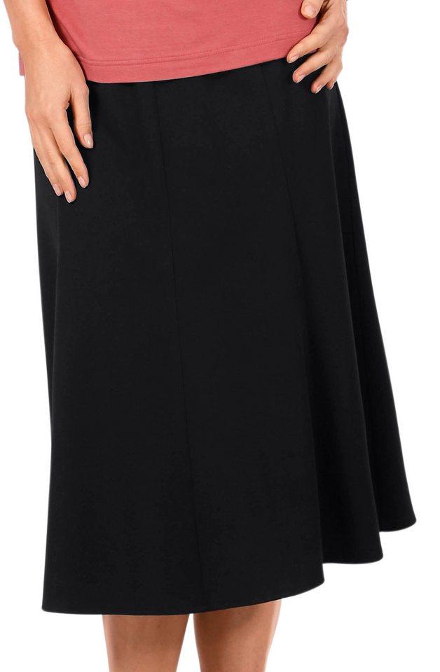 Lady Rock mit schmalem Bund in schwarz