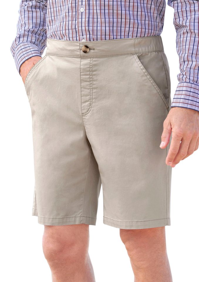 Classic Bermudas in Schlupfform in beige