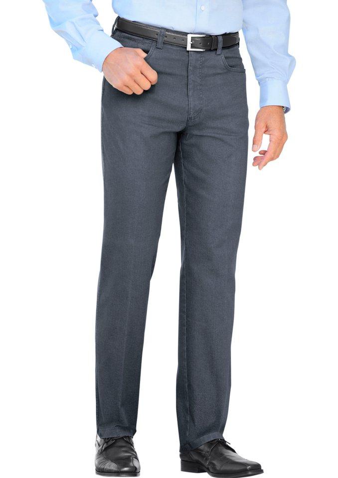J. Witt Collection Jeans mit elastischem Komfortbund in grau