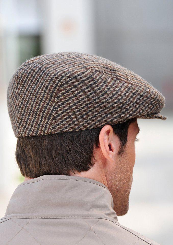 Mütze mit Hutband in braun