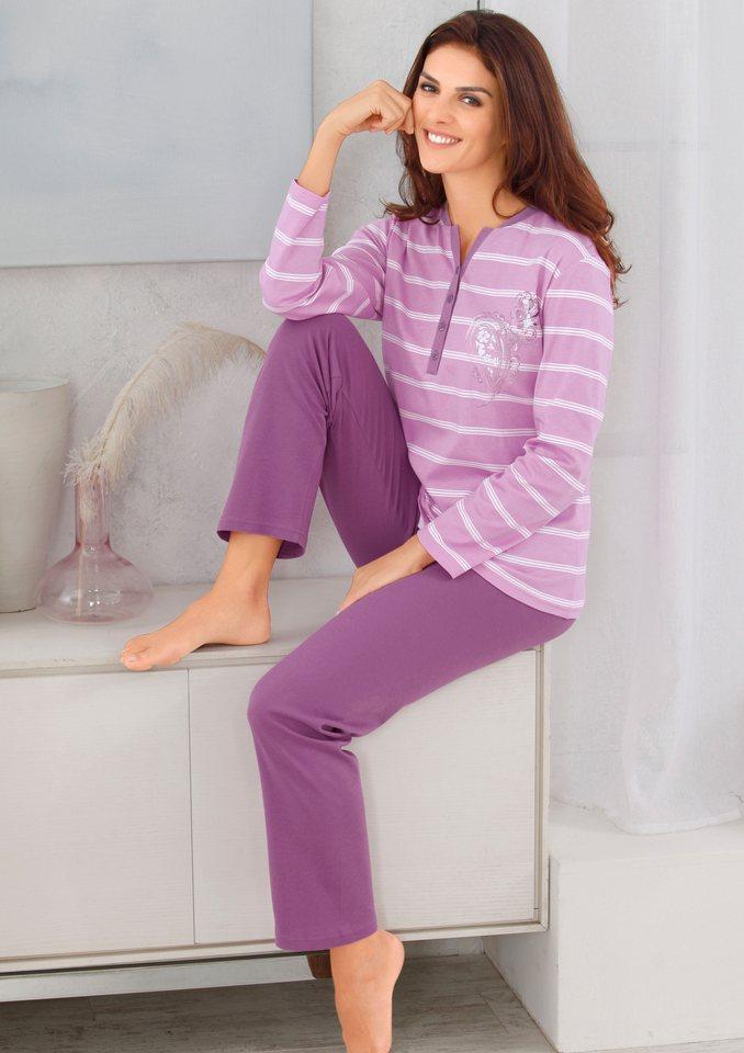 Schlafanzug, Ringella in rosenholz-bedruckt