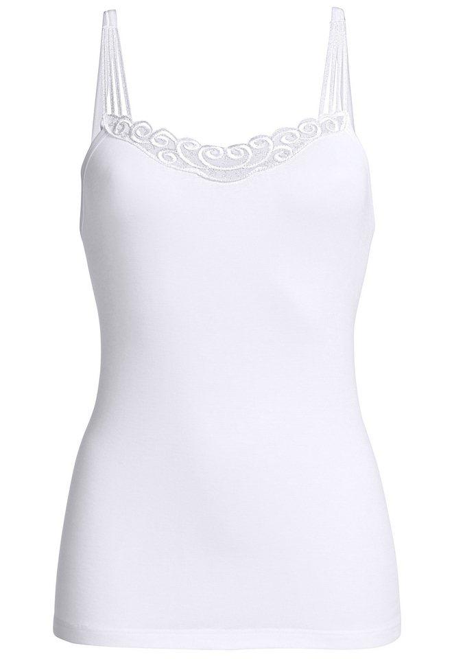 Trägerhemd, Comazo in weiß