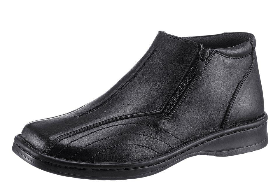 Airsoft Stiefel mit Wechselfußbett in schwarz