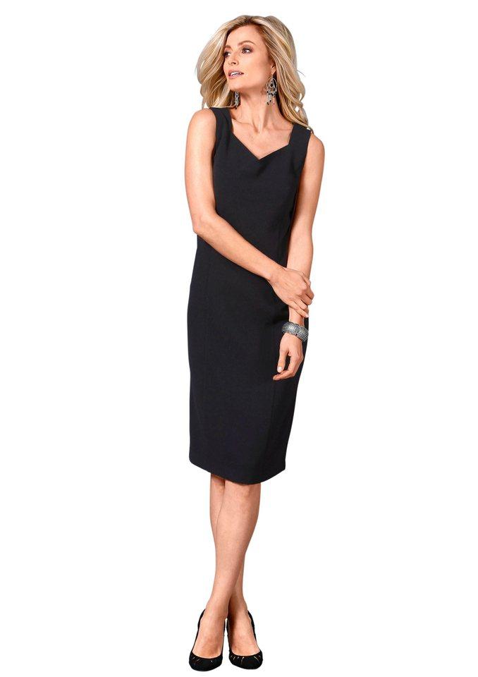 Lady Kleid in trageangenehmer Stretch-Qualität in schwarz