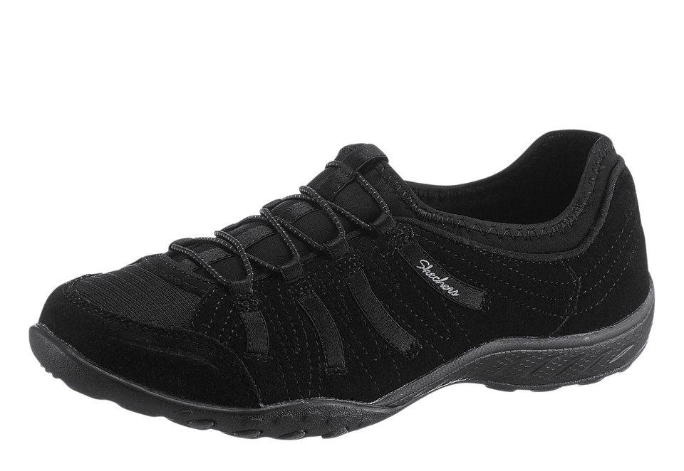 Skechers Slipper mit Memory-Foam-Decksohle in schwarz