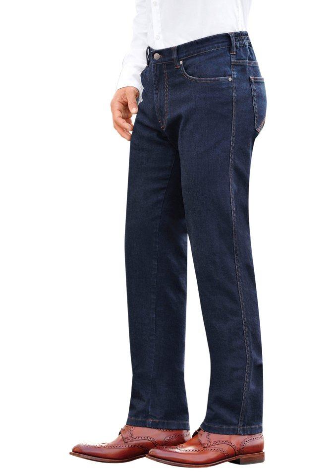 Brühl Jeans in klassischer Five-Pocket-Form in dark blue